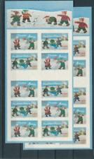 [G130571] France Christmas good complete booklets (2) VF Adhesive
