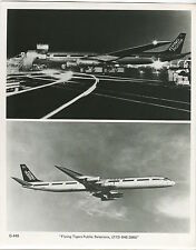 FLYING TIGER LINE DOUGLAS DC-8 LARGE OFFICIAL PHOTO AIRLINES