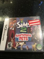 Sims 2 Apartment Pets NDS New Nintendo DS
