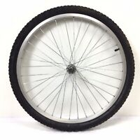 """Complete 24"""" Front Alloy Bicycle Wheel w/ 1.95"""" Tire - Junior Mountain Bike #M44"""