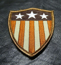Captain America shield Stars Stripes Us flag morale tactical Hook and Loop Patch