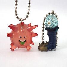 Square Enix SQEX Toy Dragon Quest Crystal Monsters Skipper & Spiky Boy Keychain