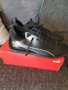 Puma EvoKnit Black Trainers Men's UK 11