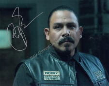 Emilio Rivera signed 'Marcus Sons of Anarchy' authentic guaranteed COA