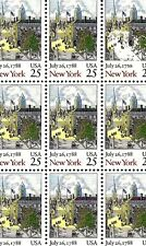 1988 - NEW YORK STATEHOOD - #2346 Full Mint -MNH- Sheet of 50 Postage Stamps