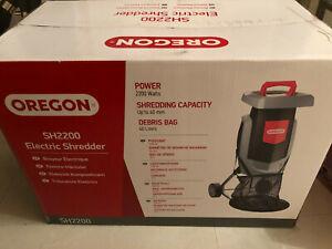 Oregon SH2200 2200W 90Kg/Hr Electric Shredder 230V Garden Waste Cleaner Cutter