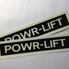 Montgomery Wards Gilson Powr-Lift Decals For Deck Set Of Two