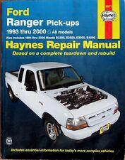 HAYNES FORD RANGER PICK-UPS 1993 thru 2000 REPAIR MANUAL - BOOK