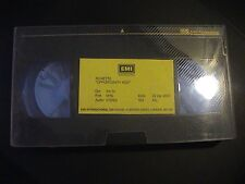 Roxette OPPORTUNITY NOX European Promotion PAL VHS Video