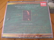 3 CD BOX MARTHA ARGERICH and Friends Live from the Lugano Festival 2005 SEALED