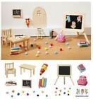 Miniatur Deko Sets, Schule Einschulung, Zubehör Wichtel Streiche Hobbyfun