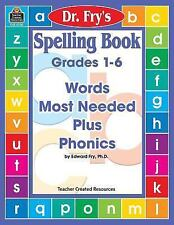 Spelling Levels 1-6 Words Most Needed Plus Phonics by Edward Fry (1999) 160721