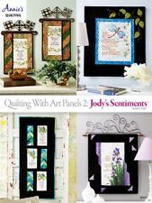 Quilting Pattern Book ART PANELS 2, JODY'S SENTIMENTS ~ 4 Heart Feltl Designs