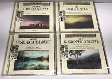 Lot of 4 CLASSICAL TREASURE CDS  Various Artists  Made in CANADA