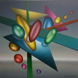 Randy Dunham - Surrealism Painting - Intersecting Energy