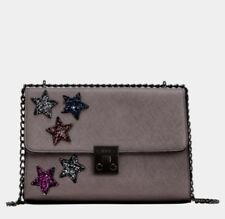 Carpisa Alba V.3 Purse & crossbody Five Coloured Stars Gunmetal MSRP $132
