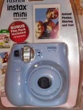 (New) Fujifilm Instax Mini 7S Blue Instant Camera w/Bonus Film pack-Free Shippin