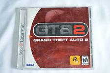 Sega Dreamcast Grand Theft Auto 2 Video Game. Untested