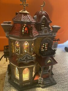 LEMAX HALLOWEEN VILLAGE SPOOKY TOWN MYSTIC ISABELLA'S PSYCHIC READINGS COMPLETE