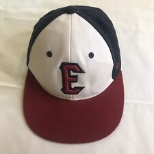 Evansville Otters Frontier League Fitted Size 6 3/4 Baseball Hat autographed