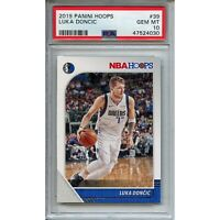 Luka Doncic 2019-20 Panini Hoops #39 PSA 10 Gem Mint! 2nd Year! Star! Rookie RC!