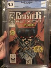 PUNISHER WAR JOURNAL #6 CGC 9.8 First fight and meeting Wolverine vs Punisher