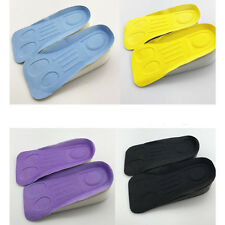 "Higher Increase Height Secret In Sock Pad 3cm/1.18"" Half Colorful Lift Insole"