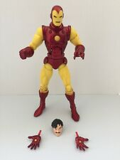 MARVEL LEGENDS CLASSIC IRON MAN from MARIA HILL TRU 2-PACK EXC. Complete EUC