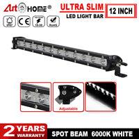 12 inch Ultra Slim Spot LED Work Light Bar Car Offroad SUV Driving Lamp  12V 24V
