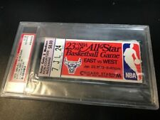 1973 NBA ALL STAR GAME TICKET STUB DAVE COWENS MVP PSA NICEST ON EBAY