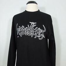 DARKESTRAH Band Logo Longsleeve Shirt (No Colours Records) Black L Men's (NEW)