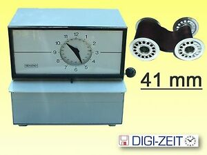Farbband für Stempeluhr BENZING HORADA 41 mm