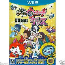 Youkai Watch Dance: Just Dance Special NINTENDO WII U JAPANESE NEW JAPANZON