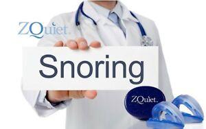 Anti Snore Mouthpiece ORIGINAL  ZQUIET 2 STEP STARTER SYSTEM Stop Snoring