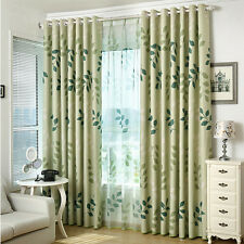 Floral With Blackout Window Curtains Ebay