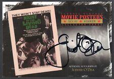Movie Posters 2010 Sci-Fi & Horror Breygent Autograph Card #Sh-Jo Judith O'Dea