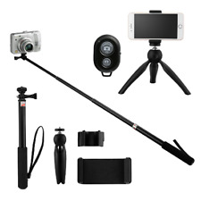 Selfie Stick Tripod Expandable Bluetooth Remote For Iphone Samsung GoPro