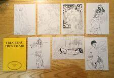 16 carte postale El Pussy cards Guido Perrin Riu Lafferte sexy girl erotic