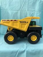 Vintage HASBRO TONKA DUMP TRUCK 4000 Xmb 975 STEEL BED Authentic YELLOW