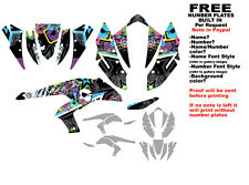 DFR SUBCULTURE GRAPHIC KIT ELECTRIC SIDES/FENDERS KAWASAKI KFX450R KFX450