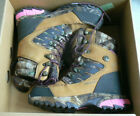 NEW Womens 5.5 BUSHNELL/Realtree/Thinsulate camo waterproof boots NIB hunt,cold