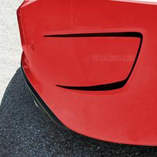 Fits 2015 Dodge Charger Rear Bumper Vent Decals Stripe Black Hellcat Srt 19