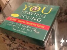 New 5 CD audio book You Staying Young for Extending Your Warranty Dr. Oz SEALED