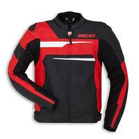 Men Ducati motorcycle leather racing jacket GE-28-2019 (US 38 - 48)