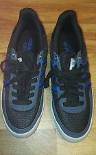 Adidas Die Marke Mit Den 3 Stripes Blue & Grey Mens Trainers Size Uk 8