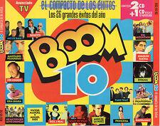 """HEROES DEL SILENCIO / ALASKA / LOQUILLO / ENIGMA / ACE OF BASE """"BOOM 10"""" 3CD SET"""