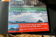France vue de la mer nord à mont-st-michel