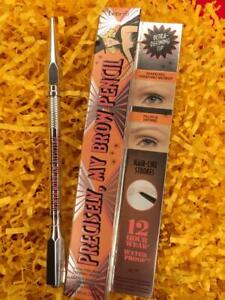 BENEFIT Precisely My Brow Pencil 4.5 NEUT DEEP BROWN .002oz Full Size NEW in Box