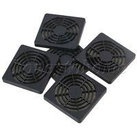 5pcs Dustproof Dust Computer Guard Filterable PC Case Fan Cooler Filter 60mm