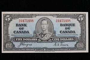 1937 Canada. ($5) Five Dollars. Series Y/C. Coyne-Towers.